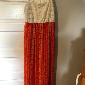 Charlotte Russe Sundress with short slip